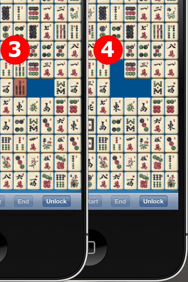 Screenshot Zhongyuan Mahjong (Solitaire) Lite
